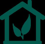 green-house-leaf-icon